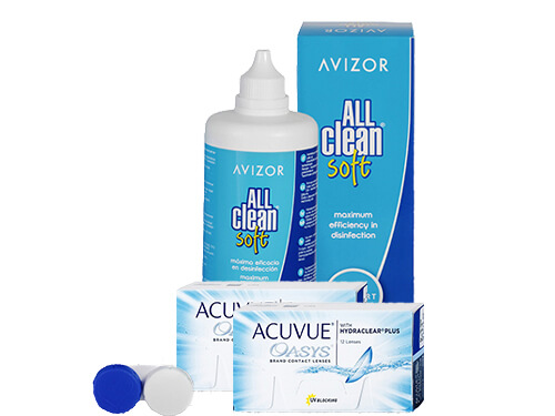 Lentillas Acuvue Oasys + All Clean Soft - Packs