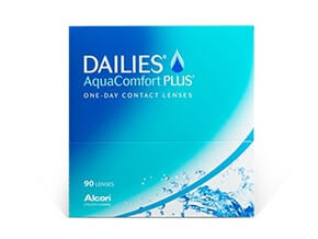 Lentillas Dailies Aquacomfort Plus (90 Lentillas)
