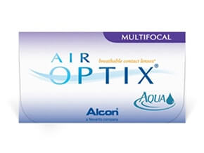 Lentillas Air Optix Aqua Multifocal (6 Lentillas)