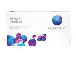 Lentillas Biofinity Multifocal (6 Lentillas)