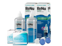 Lentillas Purevision 2HD + Renu Multiplus - Packs