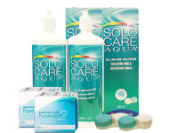Lentillas Purevision 2HD + Solo Care Aqua - Packs