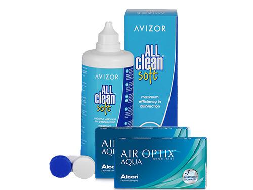 cae8a5157feee Air Optix Aqua + All Clean Soft en Lentes de Contacto 365®