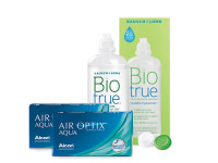 Lentillas Air Optix Aqua + Biotrue - Packs