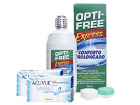 Lentillas Acuvue Oasys + Opti-Free Express - Packs