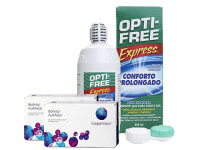 Lentillas Biofinity Multifocal + Opti-Free Express - Packs