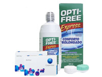 Lentillas Biofinity + Opti-Free Express - Packs