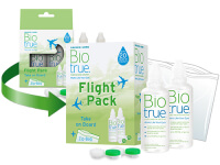 Líquido para Lentillas Biotrue Flight Pack