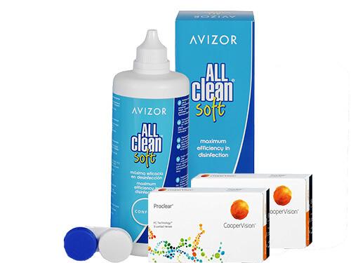 9c34d536223b7 Lentillas Proclear + All Clean Soft - Packs