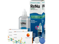 Lentillas Proclear + Renu Multiplus - Packs