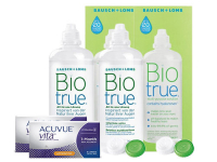 Lentillas Acuvue Vita for Astigmatism + Biotrue - Packs