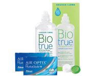 Lentillas Air Optix Plus HydraGlyde + Biotrue - Packs