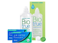 Lentillas Air Optix Plus HydraGlyde for Astigmatism + Biotrue - Packs