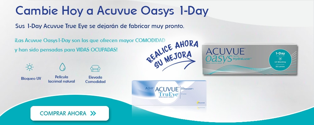 Cambie hoy a Acuvue Oasys 1-Day