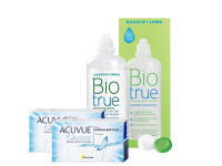 Lentillas Acuvue Oasys + Biotrue - Packs