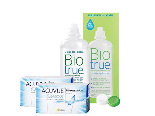46505326abf5f Lentillas Acuvue Oasys + Biotrue - Packs