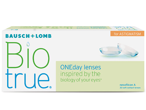 Lentillas Biotrue OneDay for Astigmatism