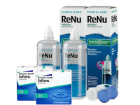 Lentillas Soflens 38 + Renu Multiplus - Packs