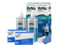 Lentillas Soflens 59 + Renu Multiplus - Packs
