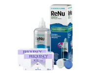 Lentillas Frequency Xcel Toric + Renu Multiplus - Packs