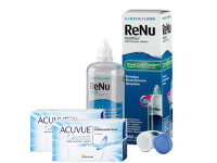 Lentillas Acuvue Oasys + Renu Multiplus - Packs