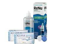 Lentillas Acuvue Oasys for Astigmatism + Renu Multiplus - Packs