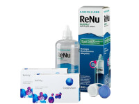 Lentillas Biofinity + Renu Multiplus - Packs