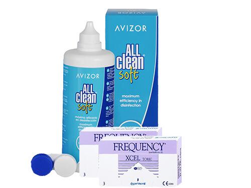 0d68d710b2259 Lentillas Frequency Xcel Toric + All Clean Soft - Packs