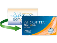Lentillas Air Optix Night & Day Aqua